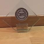 1. Platz Pokal für den Gesamtsieger der Regionalliga Nord/Ost 2015