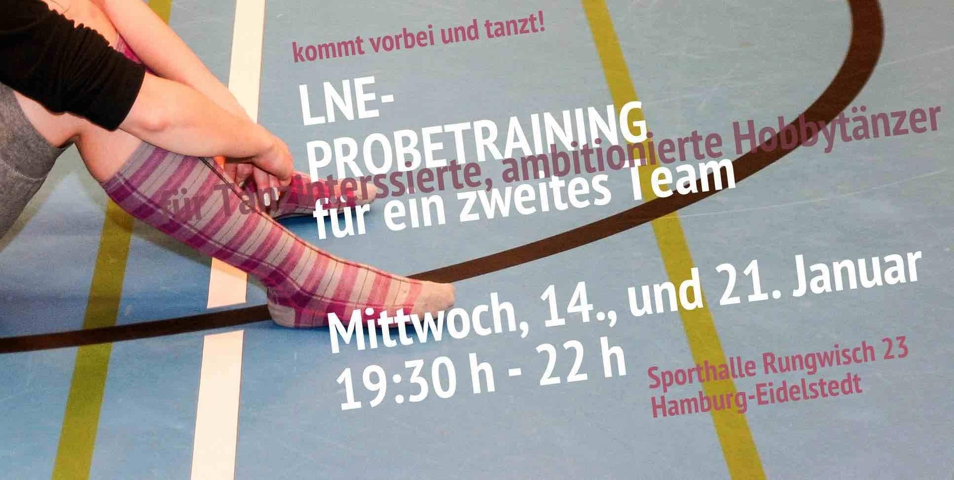 Grafik Probetraining LNE II